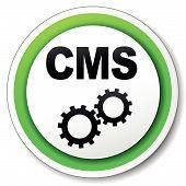 Vector Cms Round Icon