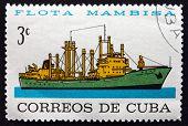 Postage Stamp Cuba 1964 Sierra Mastra, Merchant Ship