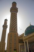 The shrine of Prophet Ayub