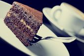 Instagram Vintage Style Chocolate Cake
