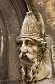 Saint Patrick Stone Carving