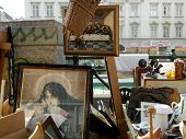 The Flea Market in Vienna