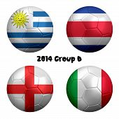 2014 Soccer Championship Group D Nations