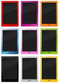 Many Colorful Stylish Tablet - Pc