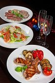 Christmas dishes for Holiday dinner
