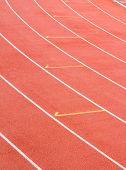 Athletics Stadium Running Track Rubber