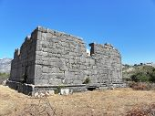Remains of Roman temple in Sidyma.