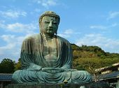 image of budha  - Big Budha statue of Kamakura in Japan