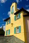 Yellow building, Portmeirion