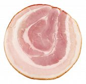 Perfect rolled bacon