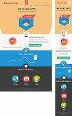 Modern designed responsive web template