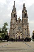 Saint Ludmila Church In Prague