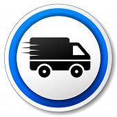 Delivery Roud Icon