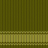 vector knitted green background