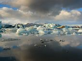 Storm Over Jokulsarlon