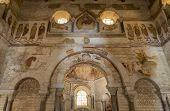 Interior Baptisterium Saint Johannes Poitiers