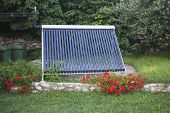 Vacuum Solar Water Heating