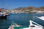 Sailboats In The Port Of Bodrum