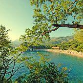 Beautiful Beach, Mediterranean Sea (italy)