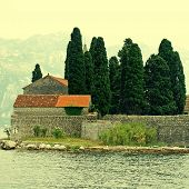 St. George Island In Kotor Bay(Montenegro)