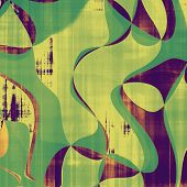 Grunge background or texture for your design. With yellow, purple, violet, green patterns
