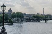 View Of River Seine