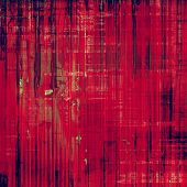 Grunge aging texture, art background. With red, violet, black patterns