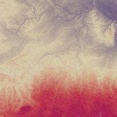 Aged grunge texture. With red, violet, gray patterns
