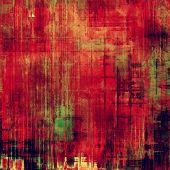 Highly detailed grunge texture or background. With red, orange, green, black patterns