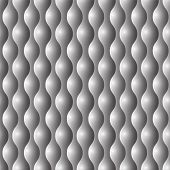 Seamless convex abstract pattern background.