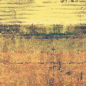 Old grunge textured background. With yellow, brown, orange, gray patterns