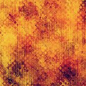Textured old background. With yellow, brown, red, orange patterns