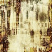 Vintage texture. With yellow, brown, gray, black patterns