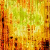Grunge background or texture for your design. With yellow, brown, orange, green patterns