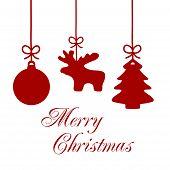 Christmas Ornaments Card 4