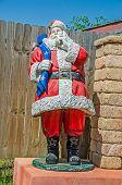 Santa Claus With His Sack