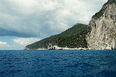Blue caves on Zakynthos island, Greece