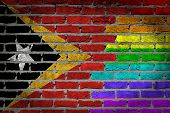 Dark Brick Wall - Lgbt Rights - East Timor