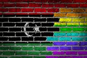 Dark Brick Wall - Lgbt Rights - Libya