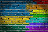 Dark Brick Wall - Lgbt Rights - Rwanda