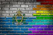 Dark Brick Wall - Lgbt Rights - San Marino