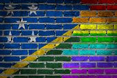Dark Brick Wall - Lgbt Rights - Solomon Islands