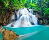 Natural Waterfall At Huay Mae Khamin