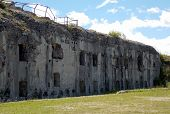 Fort Sommo Used From The Austro Hungarian Army During First World War