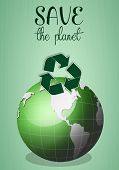 Green Earth For Save The Planet
