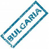 Bulgaria rubber stamp