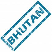 Bhutan rubber stamp