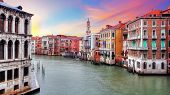 Venice - Rialto Bridge And Grand Canal
