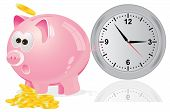 Time, money concept
