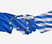 Eu Greece Handshake